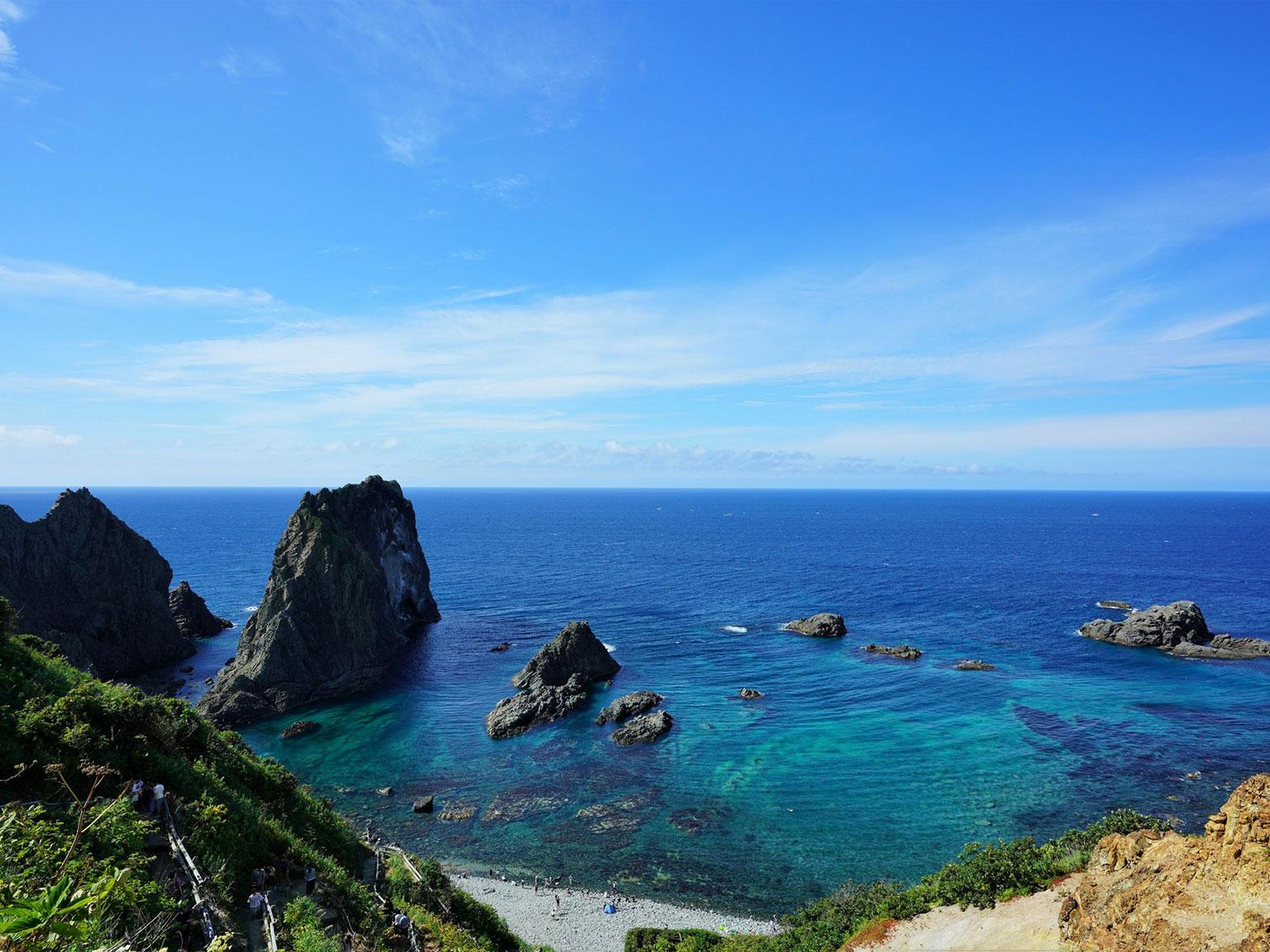入舸島武意海岸
